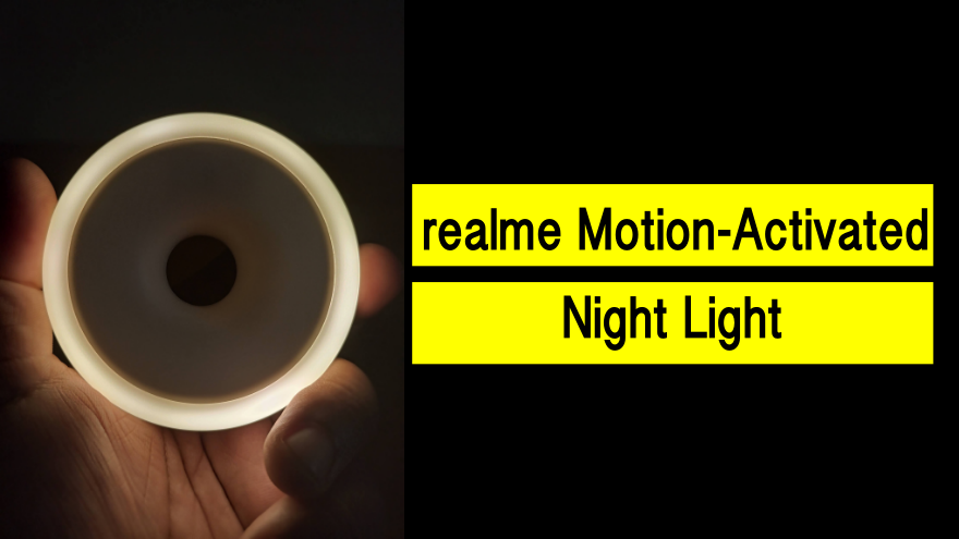The realme Motion-Activated Night Light: Simple, Yet Useful | Skip The Flip